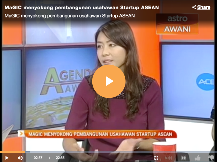 Astro TV Interview for Launch of ACE